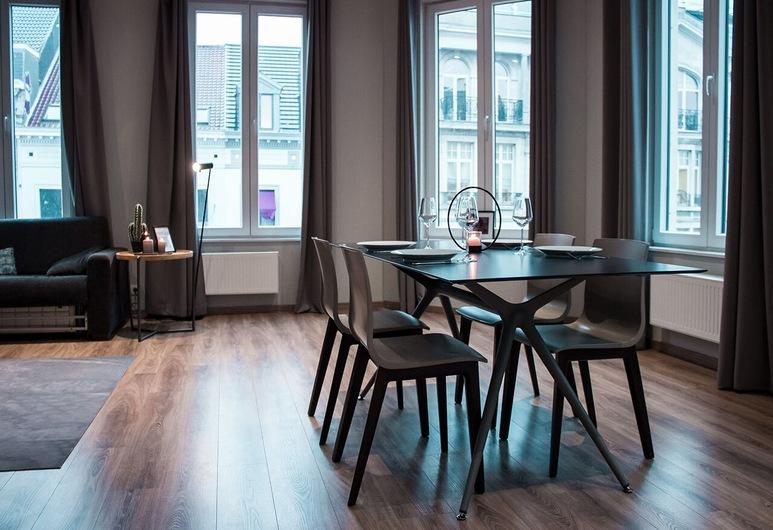 Smartflats Design - Louise, BRUSEL, Dizajnový apartmán, 2 spálne, Obývacie priestory