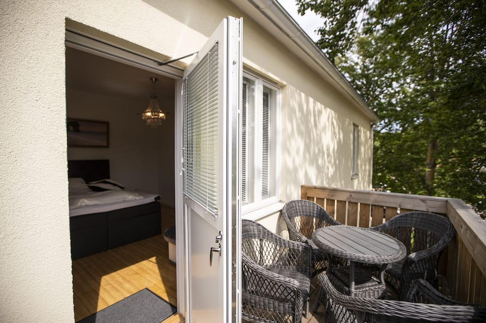 Family Apartment, 1 Bedroom, Garden view, Garden Area - Balkon