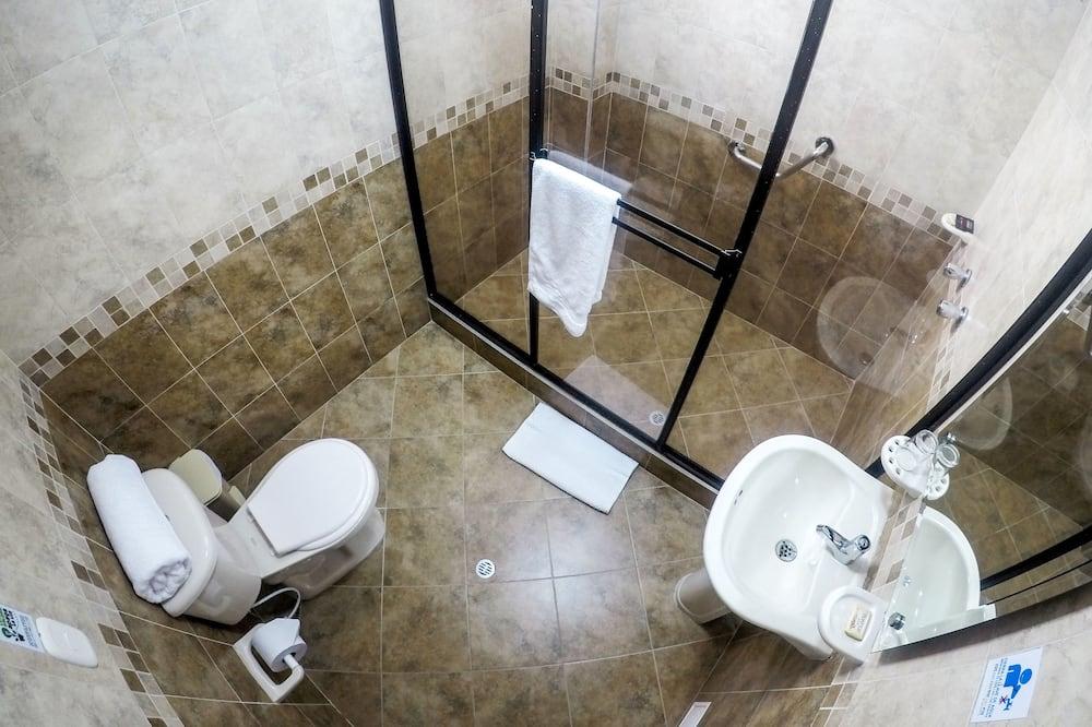 Одномісний номер, 1 велике односпальне ліжко - Ванна кімната