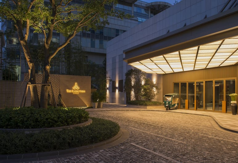 The Sukhothai Shanghai, Shanghai, Hotellentré