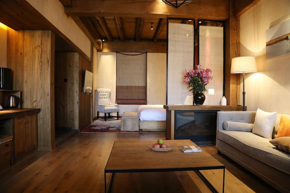 Design-suite - 1 kingsize-seng - Opholdsområde