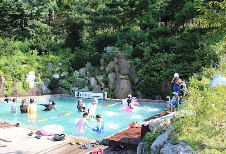 Time Story Pension, Yangpyeong, Outdoor Pool