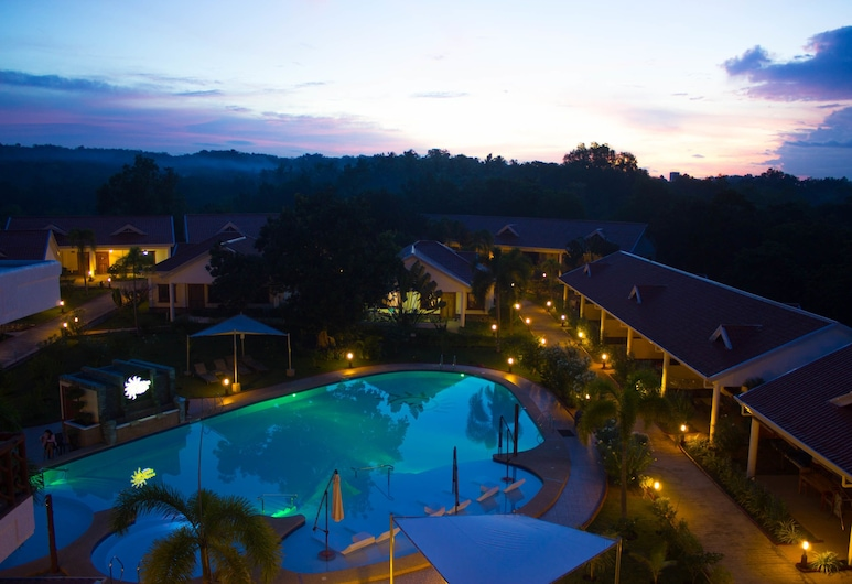 Sunshine Village Resort, Panglao, Vaade õhust