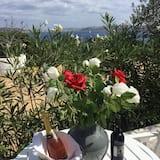 Studio, Uitzicht op zee (Melograno) - Dinerruimte buiten