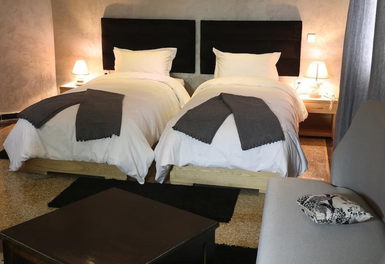 一天的日子飯店, 卡薩布蘭加, 雙床房, 客房