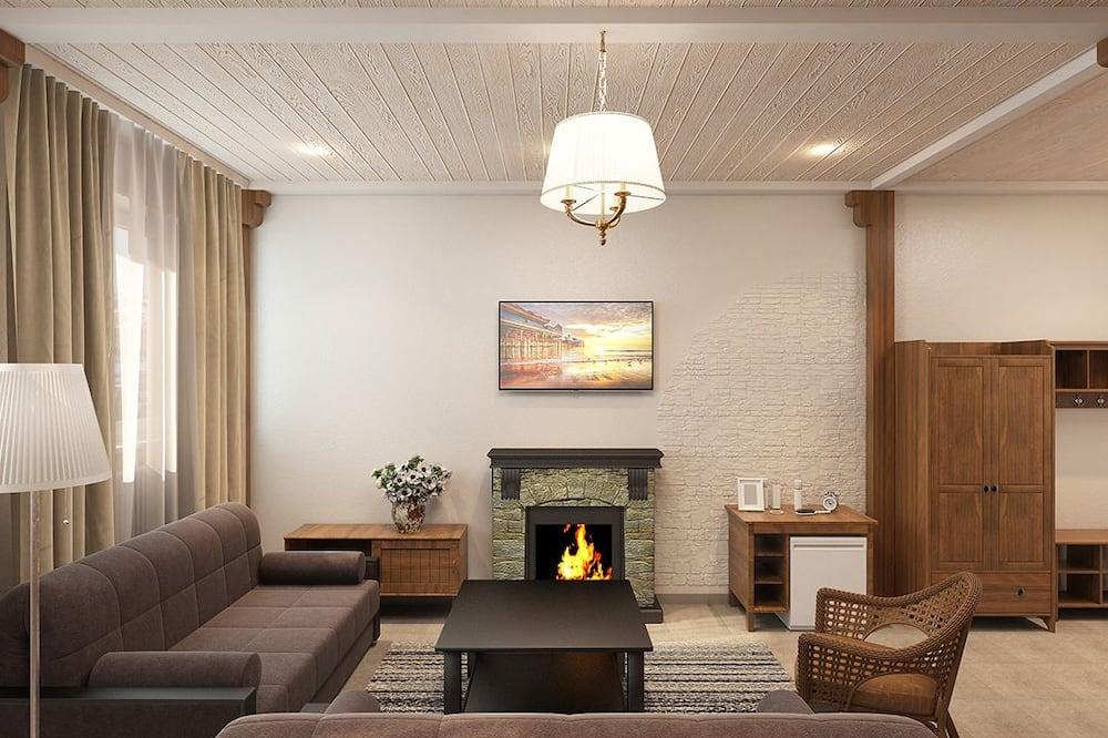 Suite de lujo, 1 habitación, sauna - Sala de estar