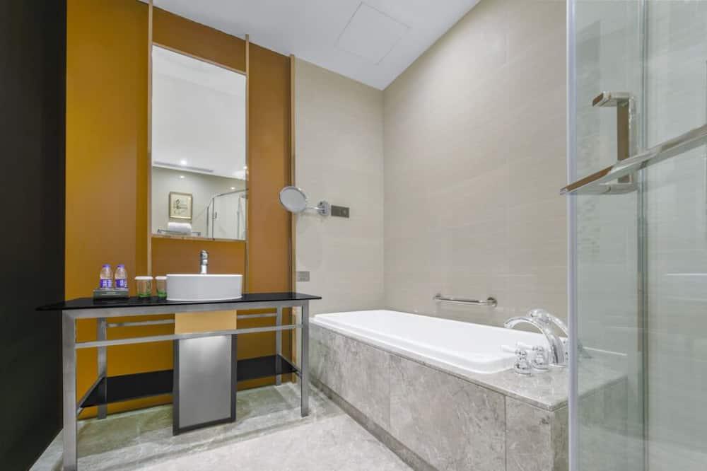 商務單/雙人房 - 浴室