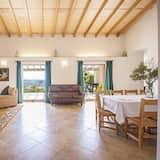 Villa, 3Schlafzimmer, eigener Pool - Essbereich im Zimmer