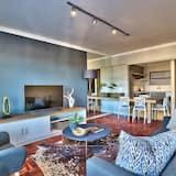 Luksus-lejlighed - 2 soveværelser - bjergudsigt - Opholdsområde