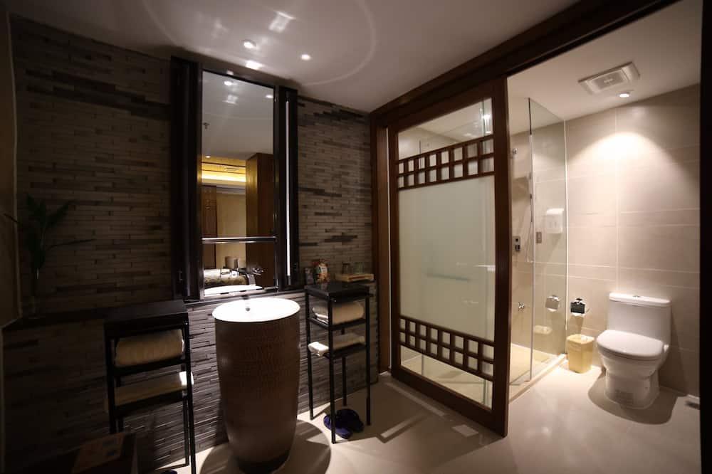 Chambre Classique, 1 grand lit - Salle de bain