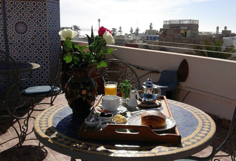 Hotel Cap Sim, Esauira, Restaurante al aire libre