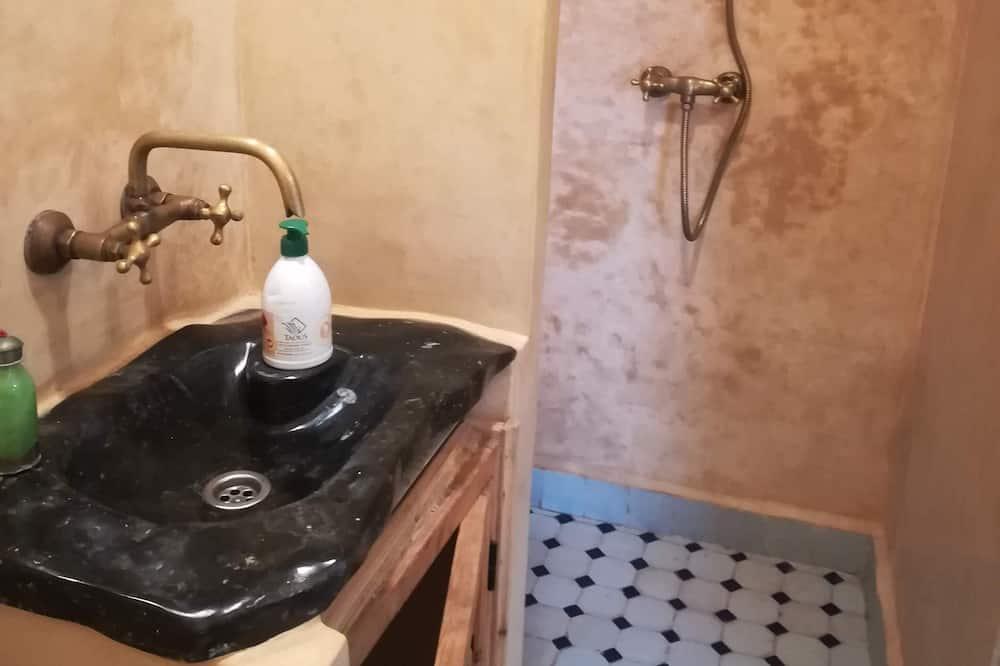 Premium-Zweibettzimmer (N° 6) - Badezimmer