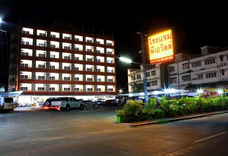 P.A. Ville Hotel, Nakhon Sawan, Hotellets front – kveld/natt