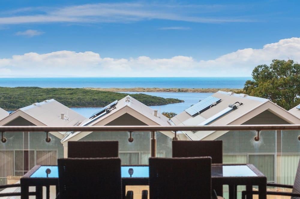 Leilighet, 2 soverom - Utsikt mot strand/hav