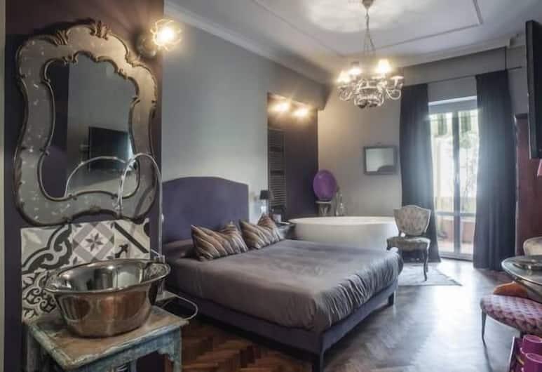 Terrazza Munira, Roma, Suite, Kamar Tamu