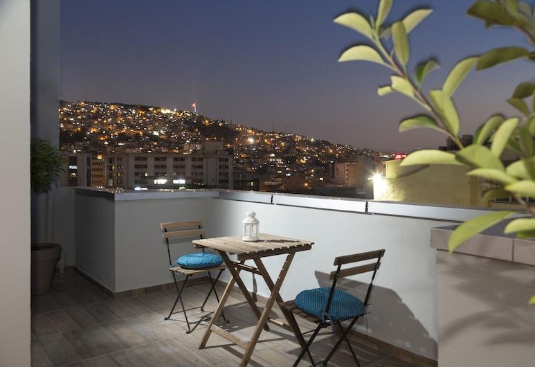 Sun Suit Hotel, Izmir, Elite Loft, City View, Terrace/Patio