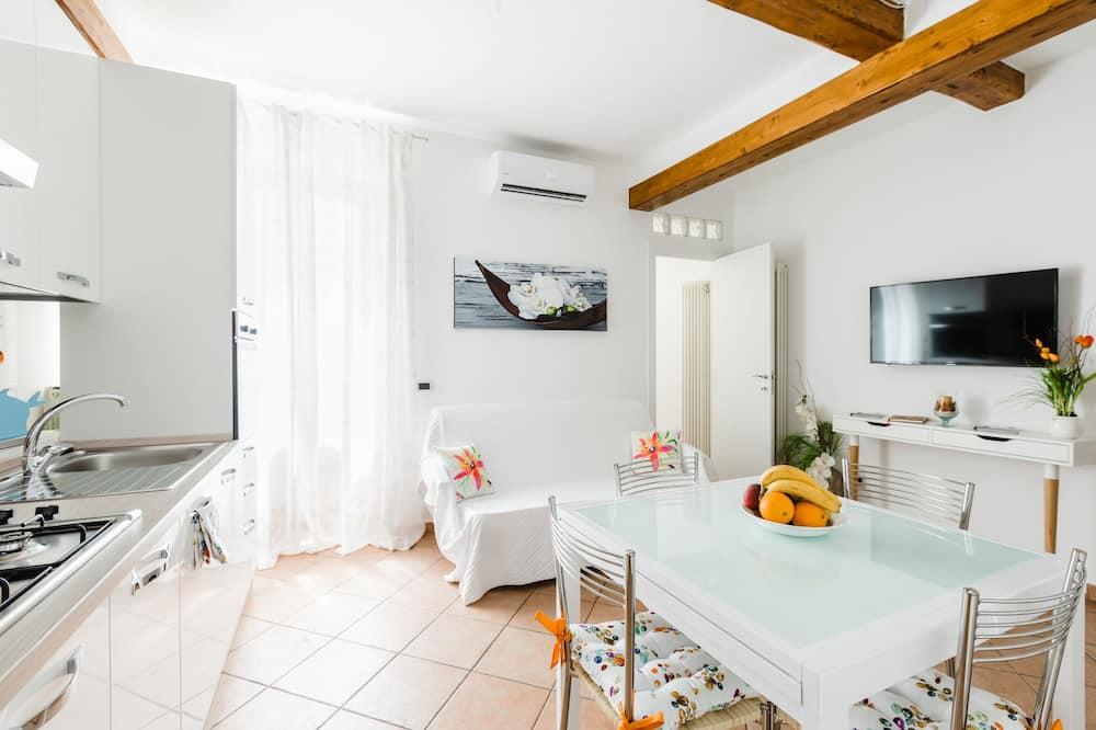 Appartement, 1 chambre, terrasse - Salle de séjour