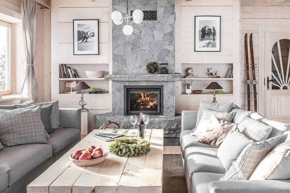Exclusive Villa, 3 Yatak Odası, Sigara İçilmez, Dağ Manzaralı - Oturma Alanı
