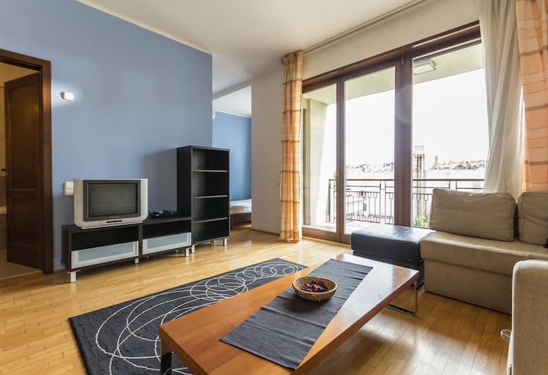 Club 99 Apartments, Budapešť, Štandardné štúdio, balkón, Obývacie priestory