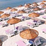 Pokój dla 3 osób o podstawowym wyposażeniu - Z widokiem na plażę/ocean