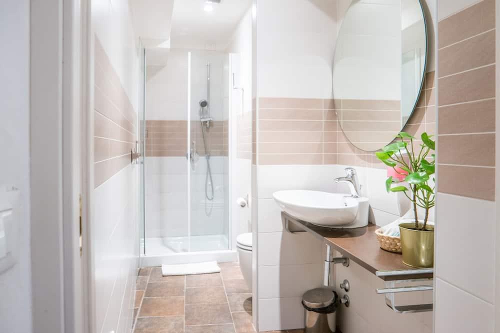 Habitación Deluxe con 2 camas individuales, baño privado - Baño