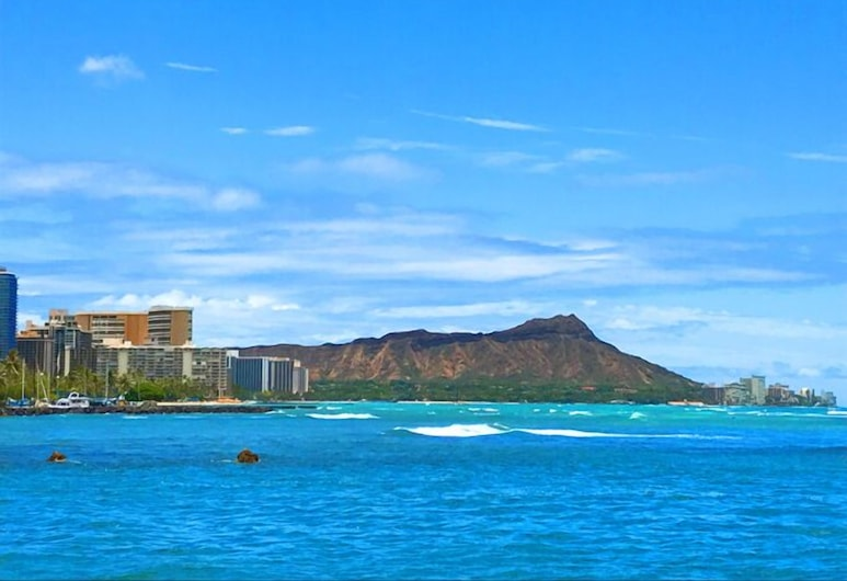 루애나 하와이 앳 알라 모아나 호텔콘도, 호놀룰루, 해변