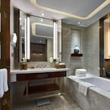デラックス ルーム キングベッド 1 台 - バスルーム