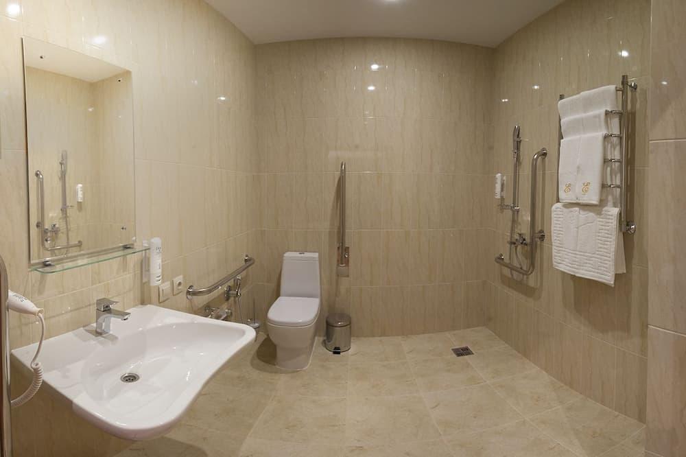 Quarto Duplo, Acessível - Casa de banho