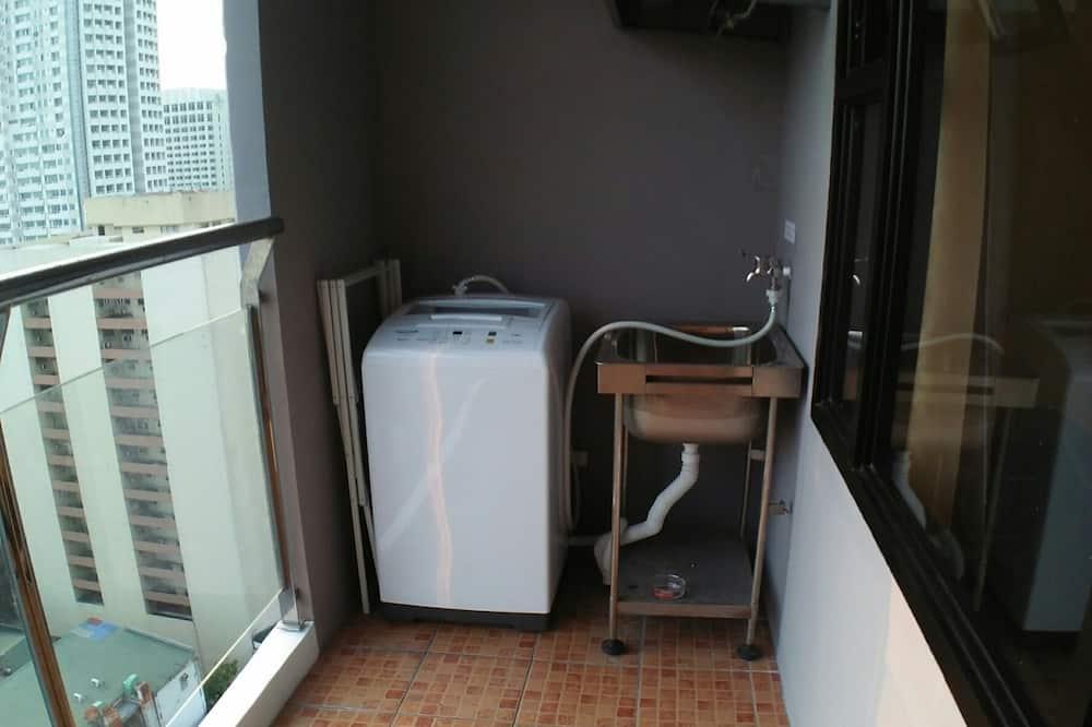 家庭公寓, 1 間臥室, 海景 - 陽台