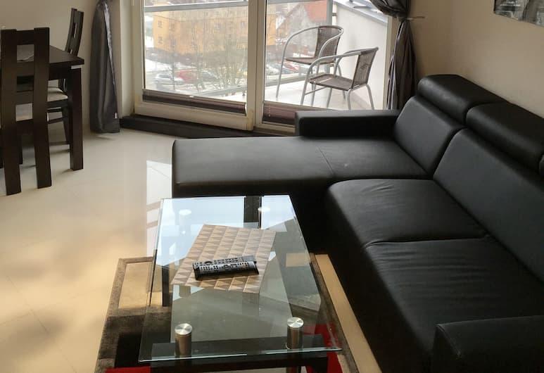 JAB Apartments Panoramika i Bandurskiego, Szczecin, Apartament typu Deluxe (Bandurskiego 95), Pokój