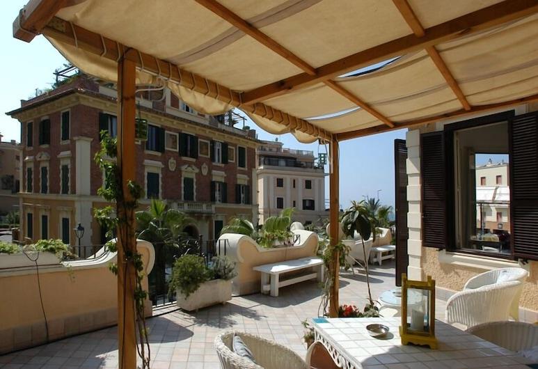 Barocchetto Romano, Roma, Loft Mewah, teras, Teras/Patio