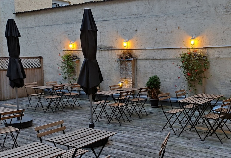 Hotel Moguntia, Maguncia, Terraza o patio