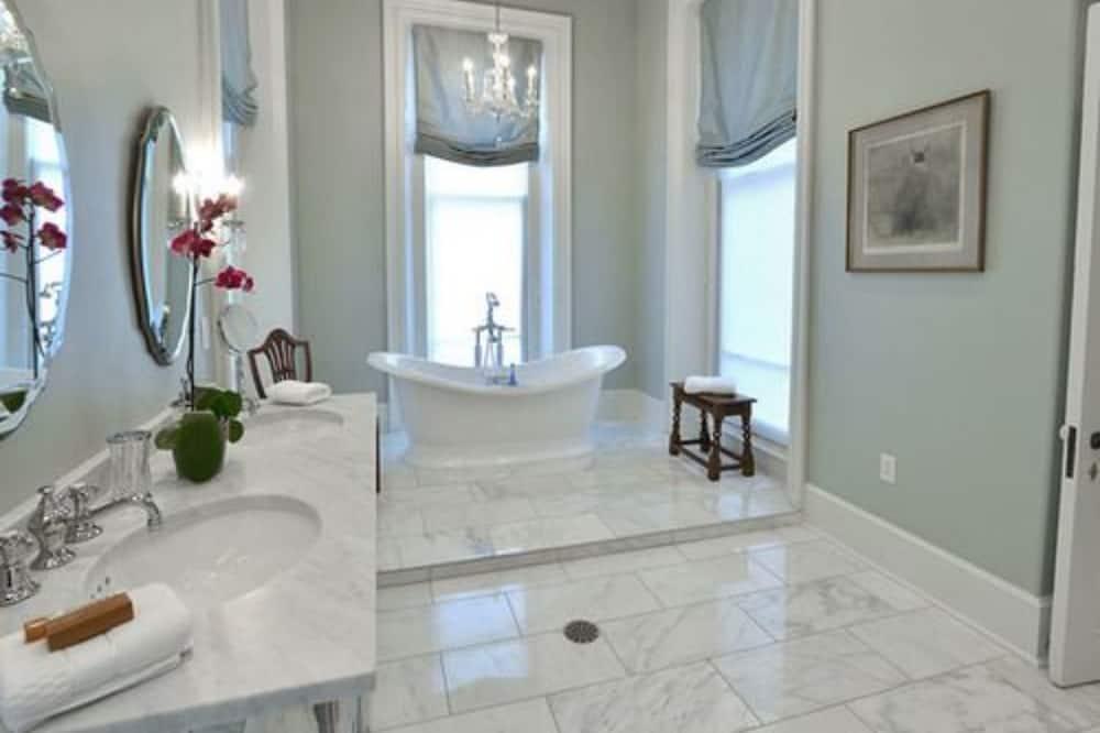 Presidential-Doppelzimmer - Badezimmer