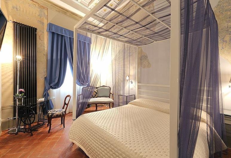 乌菲兹和谐酒店, 佛罗伦萨, 家庭房, 多张床, 独立浴室, 塔楼 (Stair Access Only), 客房
