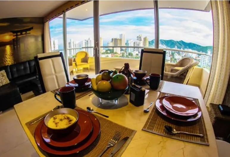 Apartamentos Suiteline Plus - Vista Infinita, Santa Marta, Apartamento Superior Balcony partial sea view (SMR660A), Phòng