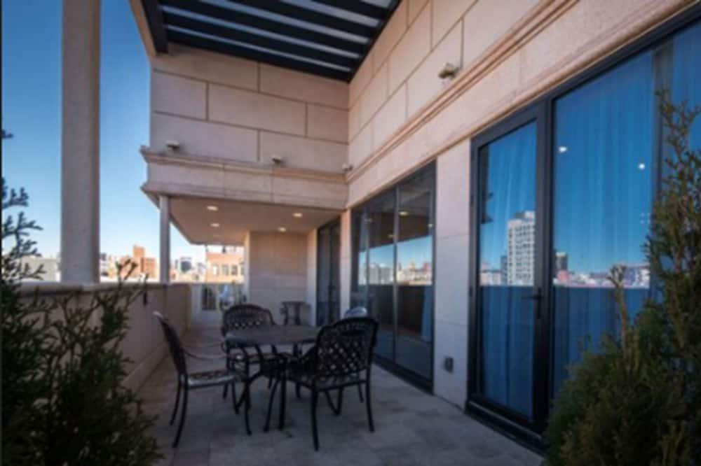 Penthouse ejecutivo, 1 cama King size, balcón - Balcón