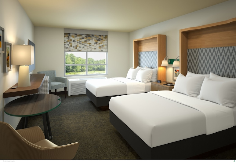 Holiday Inn Hotel And Suites-Decatur, Decatur, Room, 2 Katil Bujang (Single), Accessible, Non Smoking (Mobility), Bilik Tamu
