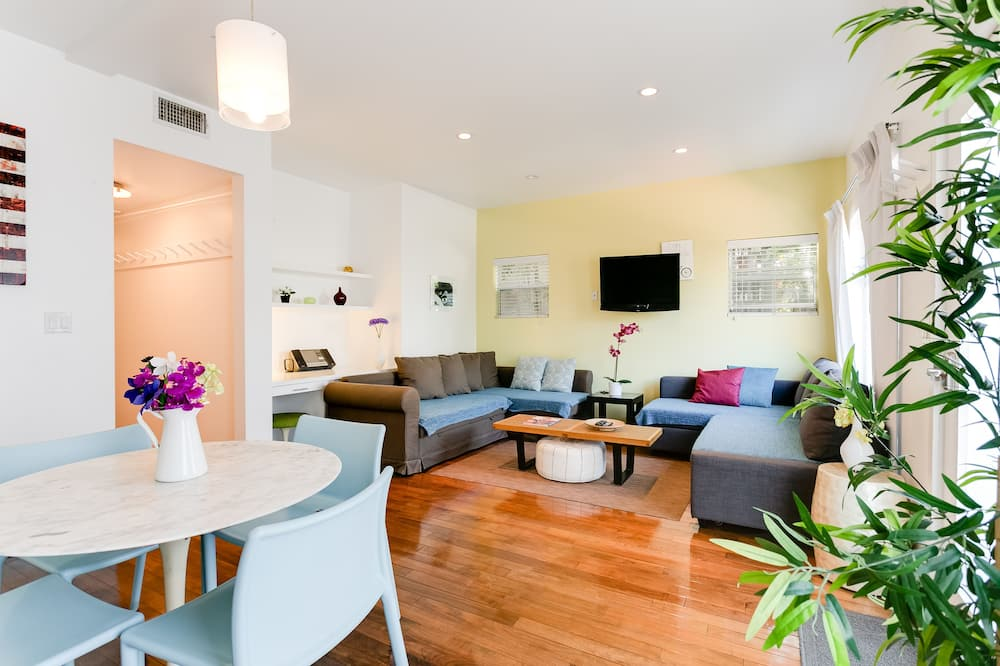 Apartamento superior, 2 habitaciones - Zona de estar