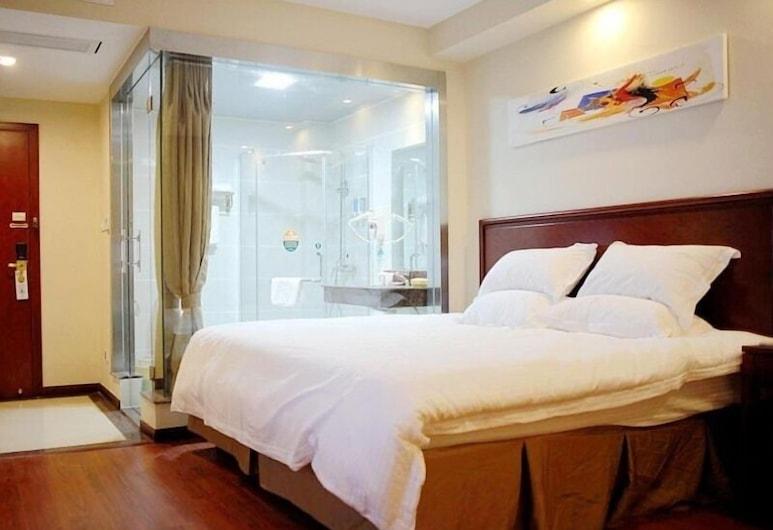 GreenTree Inn Nantong Middle Renming Road Dongjing International Express Hotel, Nantong, Gästrum