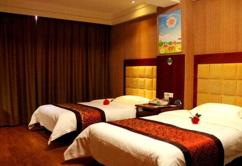 GreenTree Inn Zhongwei East Gulou Street Express Hotel, Zhongwei, Chambre