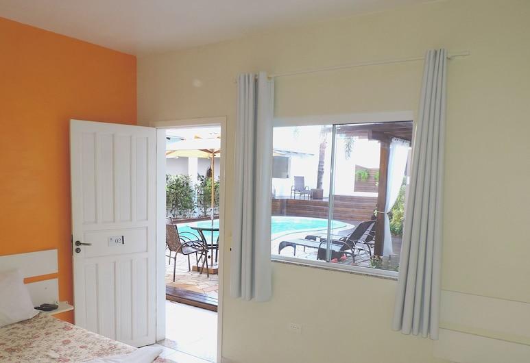 Pousada Portal do Sol, Bombinhas, Standard Quadruple Room, Pemandangan Bilik Tamu