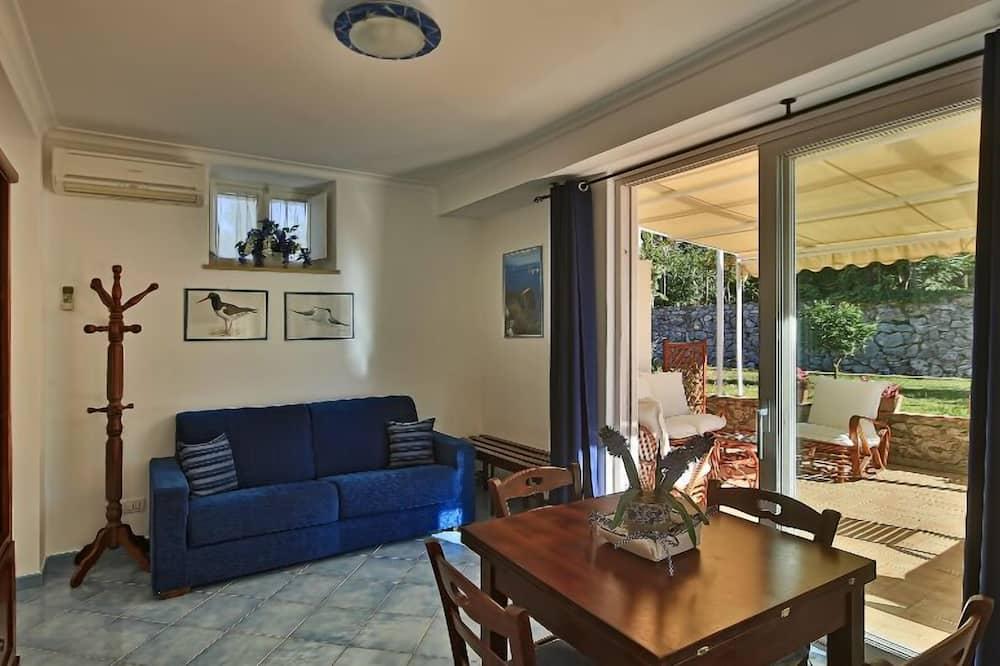 舒適公寓, 1 間臥室, 露台 - 客廳
