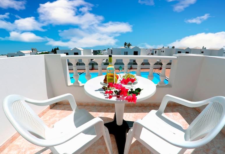 Apartamentos Tisalaya, Tias, Külaliskorter, vaade basseinile (2 pax, Private Balcony), Rõdu