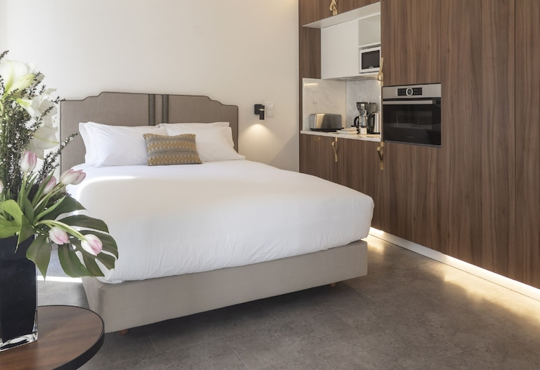 Lisbon Serviced Apartments - Avenida, Lissabon, Superior-studio, Huone