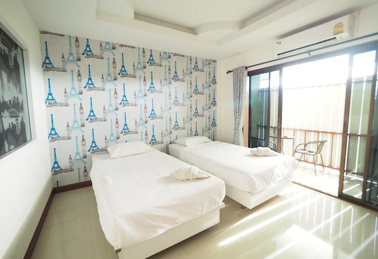 Nan Chic Inn, Nan, Standard Twin Room, Guest Room