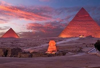 Giza bölgesindeki Giza Pyramids Inn resmi