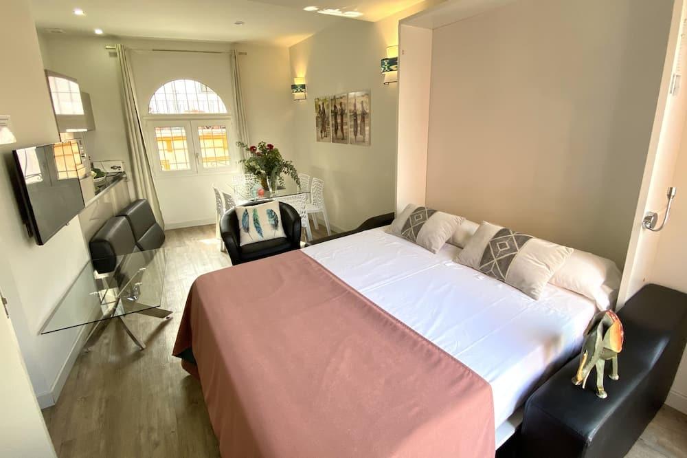豪華頂樓客房, 2 間臥室, 按摩浴缸 - 客廳