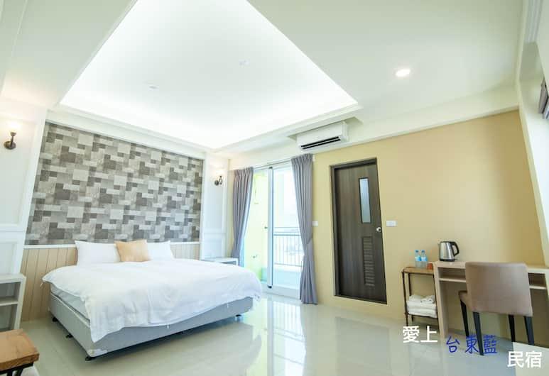 愛上台東藍電梯民宿, 台東市, 豪華雙人房, 客房
