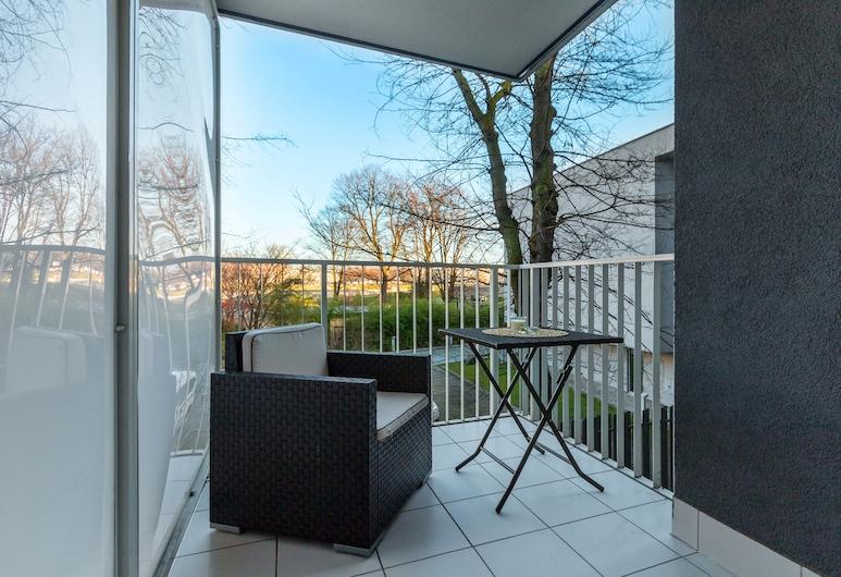 FriendHouse Apartments - Vistula & Wawel, Kraków, Studio Deluxe, balkon, Balkon