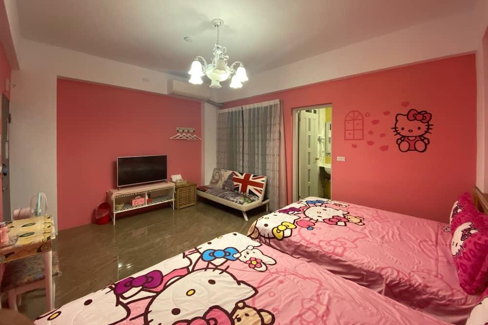 Pokój dla 4 osób Signature, 2 łóżka podwójne, dla niepalących, balkon - Pokój dla dzieci